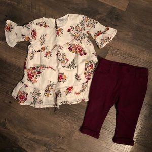 Baby Girl Old Navy Outfit